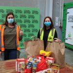 Our visit to Kiwi Harvest – Food Bank Drop Off